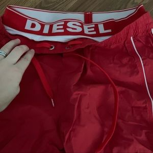 Mens diesel authentic swim shorts